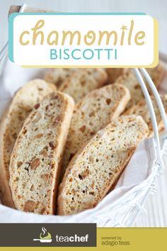 Chamomile Biscotti by Emily Amanatullah