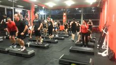 Les Mills GRIT PLYO hell yeah! It's hard but so much fun and you achieve a great workout in just 30 mins