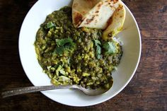 Curried Lentils with