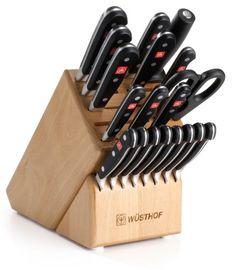 Wusthof Silverpoint Ii 7 Piece Steak Knife Block Set Natural