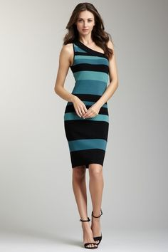 One Shoulder Dress by Andrew Marc on @HauteLook