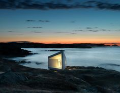 Squish Art Studio, New Foundland,Fogo Island. Saunders Architecture.