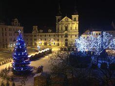 Christmas time in Jihlava, Czech Republic Czech Republic, Christmas Time, Holiday Decor, Places, Lugares