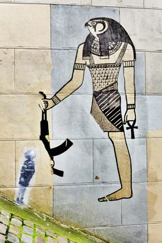 Paris 18 - rue chappe - street art - ? & leo & pipo