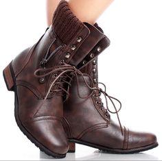 Urban Edge Flat Boots $40