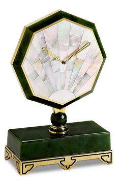 "cgmfindings: "" 1929 CARTIER DESK CLOCK IN THE ART DECO STYLE """