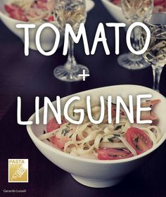 Tomato and Linguine: it doesn't get much better than fresh, in-season tomatoes. They're on full display in our light, perfect-for-summer Shrimp Linguine with Tomatoes and Artichokes recipe. Veggie Recipes, Pasta Recipes, Great Recipes, Cooking Recipes, Healthy Recipes, Summer Recipes, Tomato Linguine, Shrimp Linguine, My Favorite Food