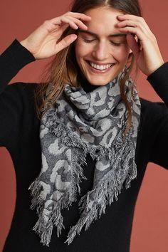 Spain MANGO TOUCH Fashion Womens Colorful Scarf Wrap Shawl Headkerchief Gifts