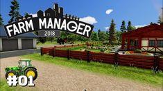 Farm Manager 2018 #01: Willkommen auf unserem Hof [Let's Play][Gameplay]...