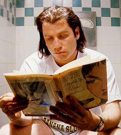 Comic novel 'Modesty Blaise' & John Travolta (via Pulp Fiction) John Travolta Pulp Fiction, Film Pulp Fiction, Cult Movies, Iconic Movies, Great Movies, Action Movies, Indie Movies, Movies Showing, Movies And Tv Shows