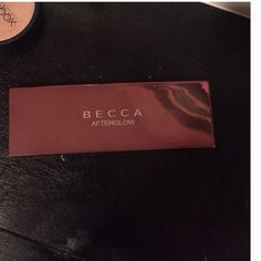 Becca afterglow Authentic... Swatched Makeup Luminizer
