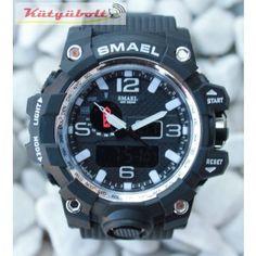 Smael duál kijelzős férfi karóra - Fekete - Fehér CK316111 Casio Watch, Watches, Accessories, Wristwatches, Clocks, Jewelry Accessories