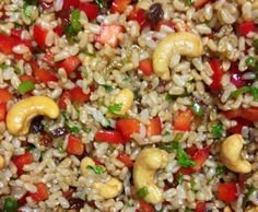 Recipe The Best Oriental Brown Rice Salad by jezzymoo - Recipe of category Side dishes