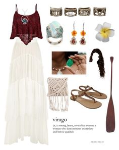 """""""Untitled #145"""" by remedypotter ❤ liked on Polyvore featuring Chloé, BaubleBar, Merona, 7 Chi and Glitzy Rocks"""