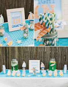 Super Cute Little Sailor Party ;) // Hostess with the Mostess®