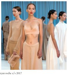 Ryan Roche ´s soft colour palette for S/S 2017 got inspired by her childhood obsession with a neighbour's palomino horse, whiles the lac. Palomino, Bridesmaid Dresses, Wedding Dresses, Soft Colors, Women Wear, Lady, How To Wear, Inspiration, Collection