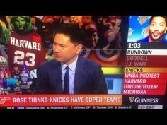 PARDON THE INTERRUPTION HOSTS REACTS TO DERRICK ROSE SUPER TEAM NY KNICKS COMMENTS