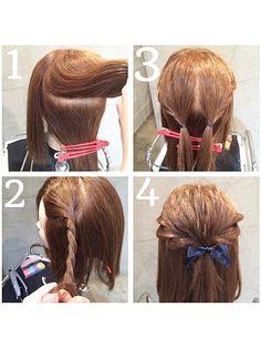 ねじる・三つ編みのみプロセス有り♡ますだあいりさんに学ぶヘアアレンジ MERY [メリー]