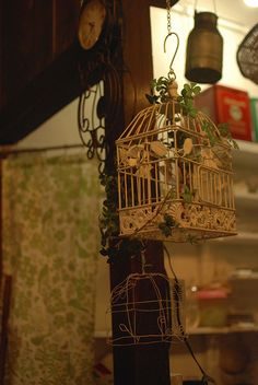 鳥かごがいっぱい