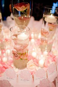 cylinder vases reception wedding flowers,  wedding decor, wedding flower centerpiece, wedding flower arrangement, add pic source on comment and we will update it. www.myfloweraffair.com can create this beautiful wedding flower look.