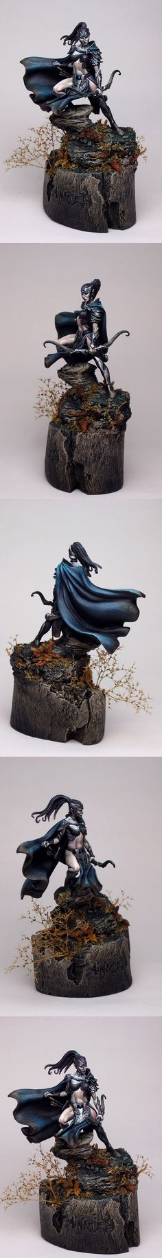 CoolMiniOrNot - Ainariel by rusto- not sure if it's Warhammer but still very cool.