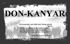 Don-kanyar - G-Portál