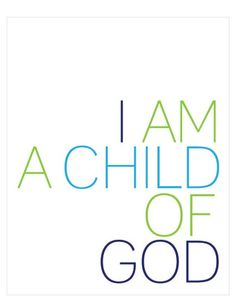 i am a child of god - simple