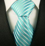 Neckties by Scott Allan, 100% Woven Lavender Blue Tie