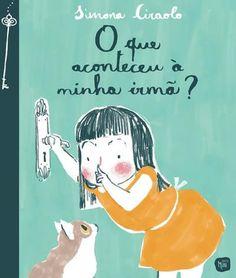 Illustrations by Simona Ciraola in O que aconteceu à minha irmã?, Orfeu Mini / Orfeu Negro, Portugal. In stock £12.2.