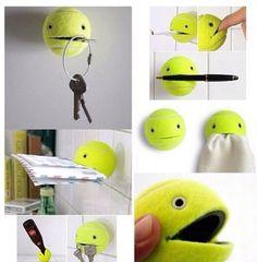 Funcionalidad de las pelotas de tenis!