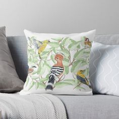 Buy Birds, Original Art, My Arts, Cushions, Throw Pillows, The Originals, Prints, Stuff To Buy, Handmade