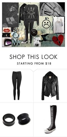 """""""*Frowny face*"""" by xxonyx-lightwaterxx ❤ liked on Polyvore featuring Topshop, NOVICA, Converse and Vans"""