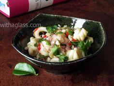 Thai Squid Salad  withaglass.com