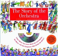 The Story of the Orchestra...Eye-catching illustrations, engaging text and delightful musical selections on the accompanying 70-minute CD lead children ages 8 to 12 (and parents, too!) on an exciting and educational tour through the instruments and music of the orchestra. Illustrated in exquisite and colorful detail with over 100 original drawings and photographs, this package is a fun and exciting musical journey for children.