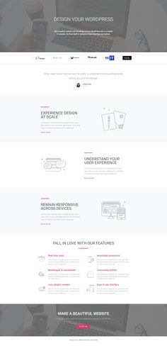 Elementor Free Home Page Agency Template