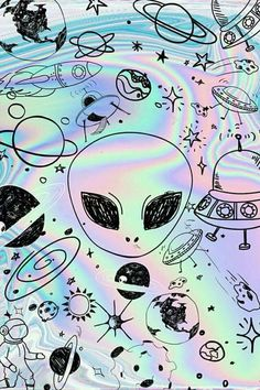 Image uploaded by Monse Plata. Find images and videos about wallpaper, space and alien on We Heart It - the app to get lost in what you love. Nerdy Wallpaper, Space Phone Wallpaper, Et Wallpaper, Planets Wallpaper, Trippy Wallpaper, Cute Wallpaper For Phone, Cute Wallpaper Backgrounds, Tumblr Wallpaper, Pretty Wallpapers