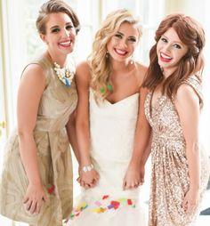Love this bridal look and bridesmaids makeup by @calistott See more here: http://www.calistottartistry.com/#!portfolio-hair-makeup-north-carolina/zoom/c1r4l/dataItem-ijkrepjp