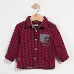 Catimini: Double-sided checked Shirt Magic Circus