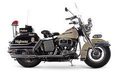 1981 Harley-Davidson 1,340cc FLHP Electra Glide Police Motorcycle Frame no. 1HD1ABK16BY051363 Engine no. ABKB051363