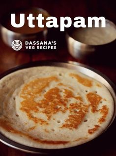 Uttapam or Uthappam is a delicious South Indian tiffin breakfast of thick pancakes made with either idli batter or dosa batter. This method makes a soft yet crispy Uttapam from scratch with fermented rice and urad dal batter. Uttapam is a tasty gluten-free recipe. #uttapam #southindianrecipes #southindiancuisine #indianbreakfast