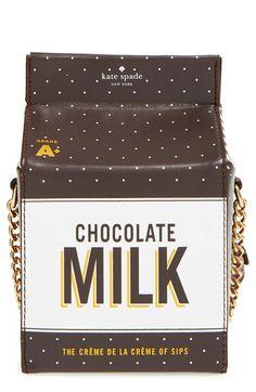 kate spade new york 'de la crème' milk container crossbody bag available at #Nordstrom