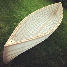 Skin-On-Frame: Ontario Canoes Navigable Works Of Art Wood Canoe, Canoe Boat, Canoe And Kayak, Canoe Trip, Boat Dock, Wooden Kayak, Kayak Paddle, Wooden Boat Building, Wooden Boat Plans