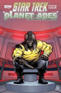 Star Trek/Planet Of The Apes crossover: the creators speak See more Sci Fi at http://www.warpedspacescifi.com/