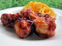 Brown Sugar BBQ Wings - Football Friday | Plain Chicken~recipe