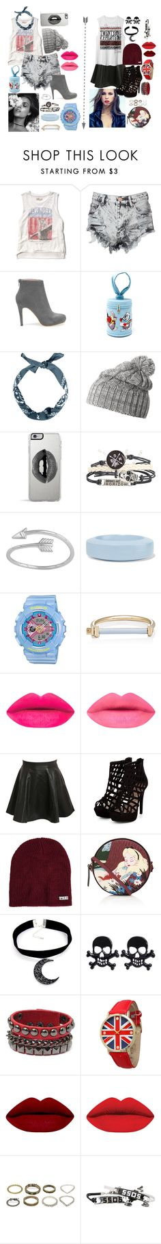 """""""Couple set (1)"""" by hien-anhhs on Polyvore featuring Abercrombie & Fitch, Glamorous, Olympia Le-Tan, Helly Hansen, Lipsy, MM6 Maison Margiela, G-Shock, MIANSAI, Pilot and Neff"""