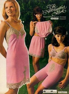 1960s lingerie ad