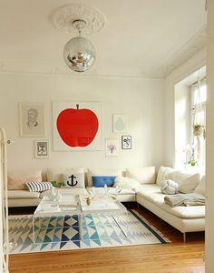 Anker setzen Die schönsten Poster in echten Wohnungen #poster #interior #deko…
