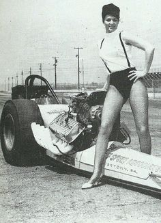 Dragster and suspenders on the cowl it say Speed-O-Motive This Company is who I bought my first Balanced Assembly in Fairbanks Alaska 1970 cool picture.