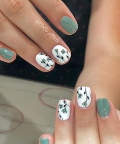 51 Simple Short Nail Art Design for Spring : 51 Simple Short Nail Art Design for. 51 Simple Short Nail Art Design for Spring : 51 Simple Short Nail Art Design for Spring – – Nail Design Spring, Spring Nail Art, Spring Art, Cute Nails For Spring, Nail Summer, Spring Makeup, Spring Nature, Spring Green, Spring Summer