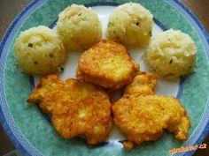 Kuřecí medailonky v sýrovo česnekovém těstíčku